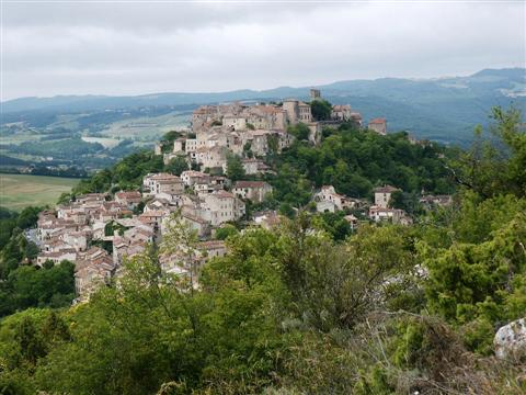 Cordes sur ciel guided walking holiday in Tarn Aveyron France