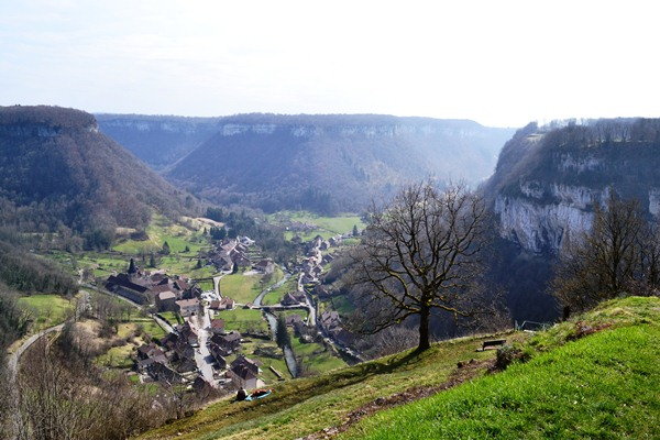view ofBaume les Messieurs Jura guided walks France