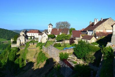 self guided walks chateau chalon jura