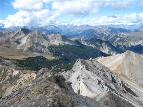 amazing panoramic views in French Alps guided walks