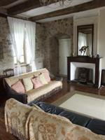 Le Claouzet farmhouse bedroom self catering Tarn and Aveyron France for walking holiday