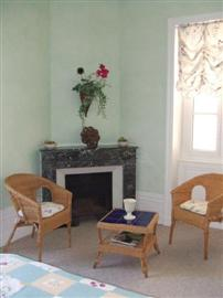 Rooms at villa toscana used for guest house in independent walking holiday in France