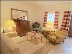 living room at grille midi self catering rental holiday property in Beaujolais France