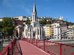 Lyon world heritage city - independent walking holiday in France