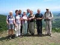 guided walking holiday group