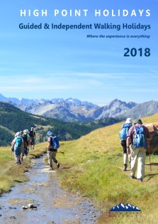 walking holiday brochure 2018