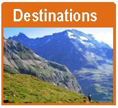 walking holiday destinations