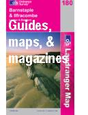 maps, travel guides, books, magazines