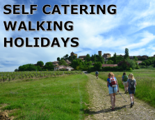 self catering walking holidays