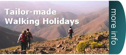 tailor made guided walking holiday france spain morocco kilimanjaro Beaujolais alps haut atlas sahara