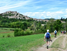 walking in the tarn, france