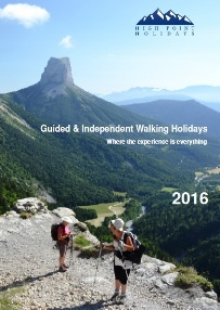 Walking Holidays Brochure 2016