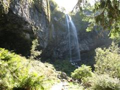 grande cascade on puy de sancy in Auvergne, France on guided holiday