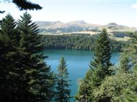 lac pavin on French independent walking holiday