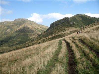 Cantal range Auvergne guided walking holiday