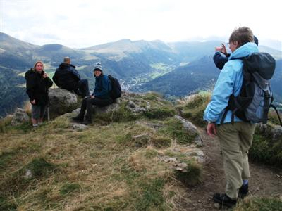 Massif de Sancy Auvergne guided walking holiday France