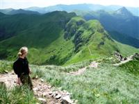 Volcanic summits in Cantal on self guided walking holiday