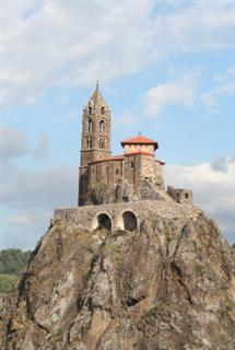 St Michels Chapel, Puy en Velay, Haute Loire, France