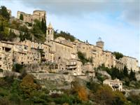 montbrun les bains village in France provence walks