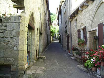 historic street lot French walking holidays