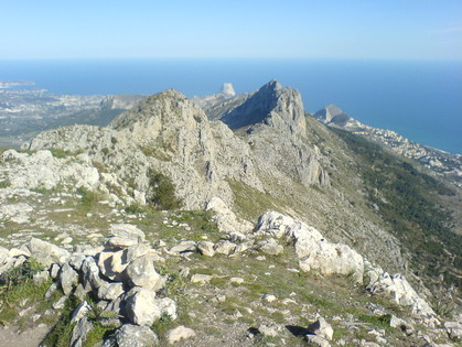 Jalon Valley Costa Blanca Spain guided walking holiday