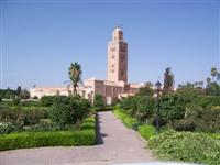 Koutoubia mosque Marrakech Morocco guided walking holiday