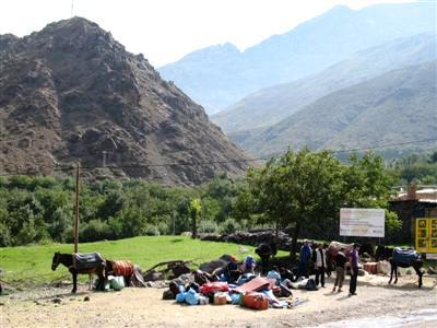 toubkal High Atlas Morocco Africa guided trekking holiday tour