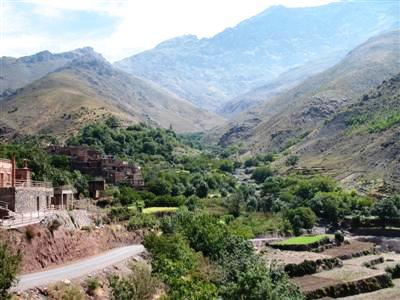 imelil Toubkal High Atlas Morocco Guided trek walking tours holiday