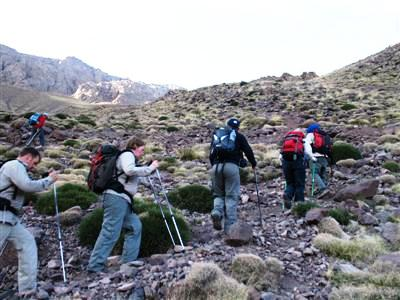Tacheddirt Toubkal High Atlas Morocco Africa guided trekking tours and holidays