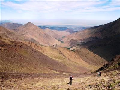 Toubkal High Atlas Morocco Africa guided trekking and walking holidays and tours
