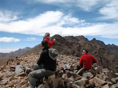 Tizi Likempt Toubkal High Atlas Morocco Africa guided trekking and walking holidays and tours