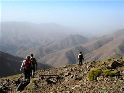 views of sahara desert toubkal High Atlas Morocco Africa guided trekking and walking holiday
