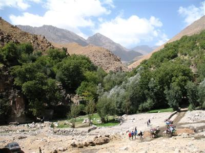 Amsourzerte village Toubkal High Atlas Morocco Africa guided trekking tour