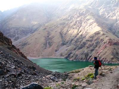 lac d'ifni Toubkal High Atlas Morocco mountains Guided trekking tour