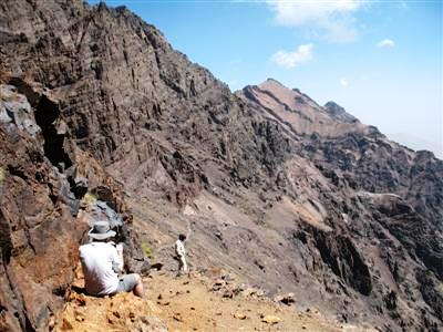 Dome d'ifni jbel Toubkal High Atlas Morocco Africa guided trekking and walking holiday