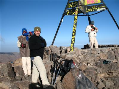 summit ascent jbel toubkal High Atlas morocco guided trekking holiday and tours