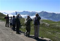 view of Cantabrian mountains Picos de Europa Spain guided walking holiday