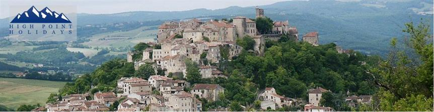 Self catering walking holiday in Tarn, Midi Pyrenees, France