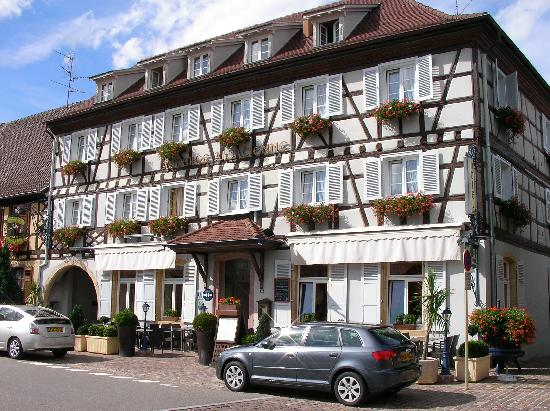 auberge alsacienne eguisheim alsace France independent walking holiday