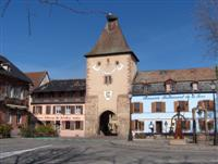 historic villages on French walking holidays in Alsace