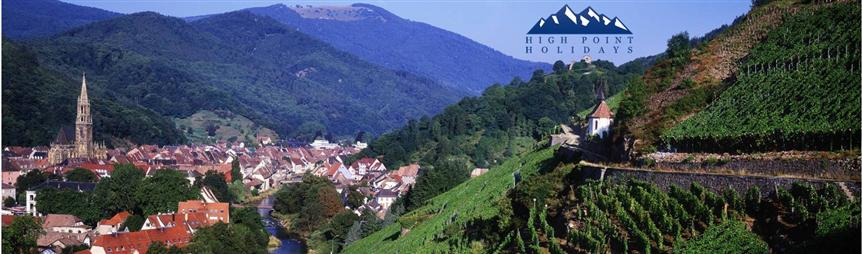 independent walking holiday in Alsace France High Point Holidays