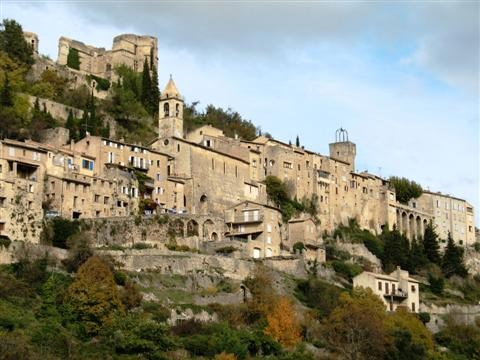 montbrun les bains provence self guided walking holiday
