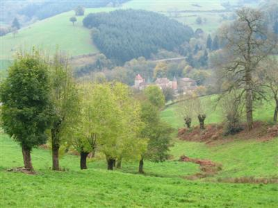 High Beaujolais guided walking France