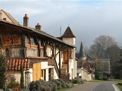 royer in Burgundy historic villages self guided walking holiday