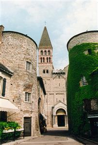 Tournus abbey by saone st philibert abbey independent walks France