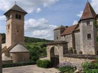 Blanot self guided walking holidays in France Burgundy