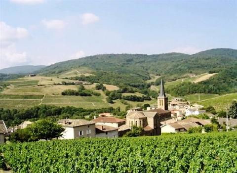 jullie village in north Beaujolais region France luxury walking holiday