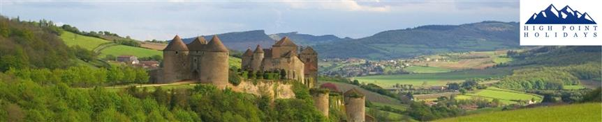 independent walking holiday in Burgundy France with High Point Holidays