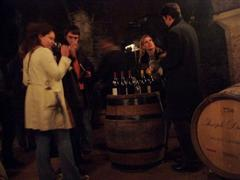 wine tasting in Beaujolais France on walking holiday