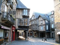 dinard historic towns brittany norther France